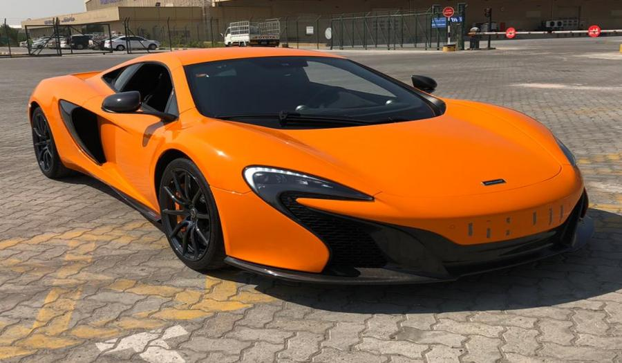 2015 MODEL USED MCLAREN 650S COUPE