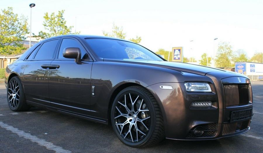 2011 ROLLS ROYCE GHOST MANSORY PACKAGE
