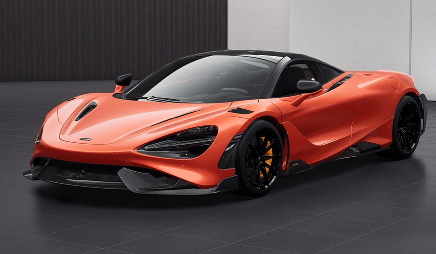 2021 NEW MCLAREN 765LT - ORANGE