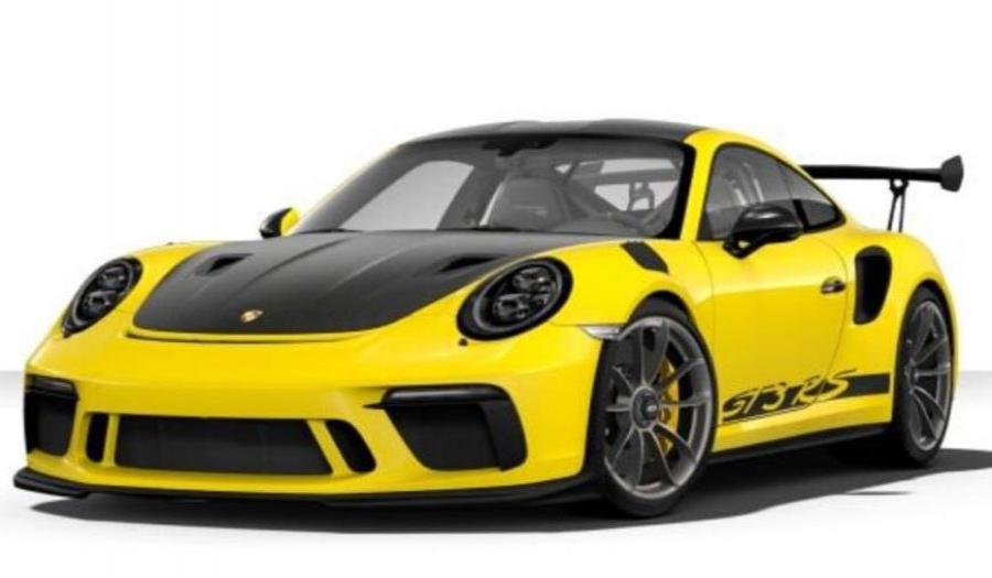 2019 PORSCHE GT3 RS 4.0L V6 - YELLOW