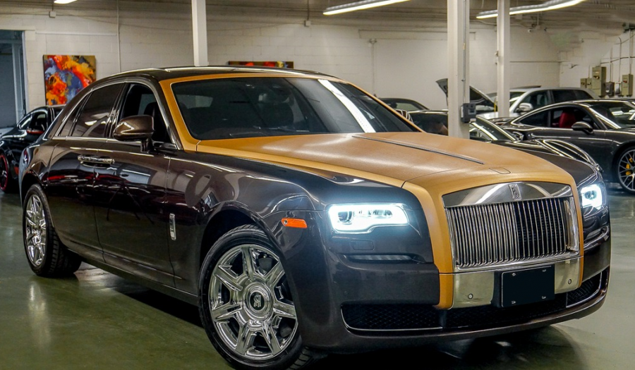 2017 BRAND NEW ROLLS-ROYCE GHOST